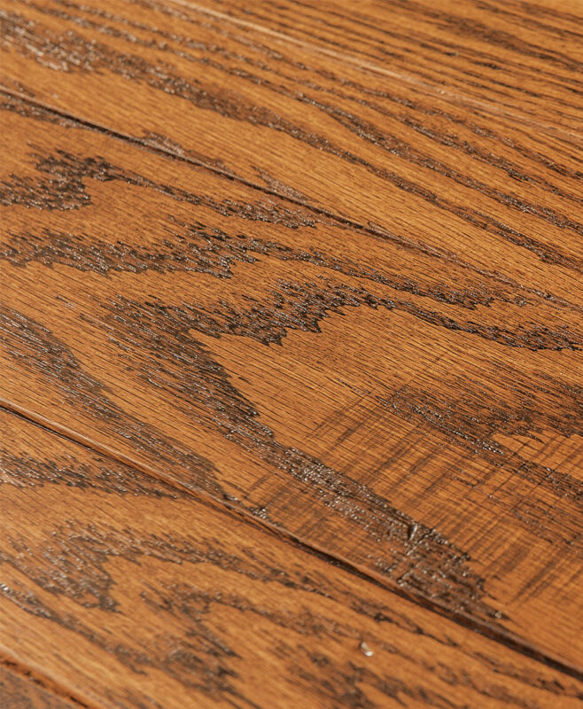 Dayton Amish Leg Table [Table Top Detail]