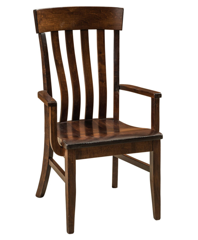 Galena Amish Dining Chair [Arm]