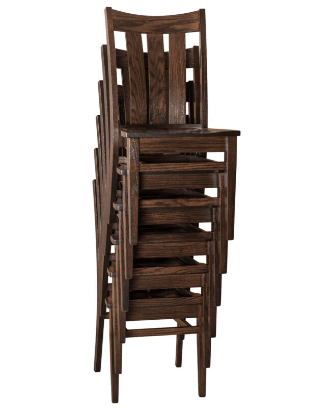 Lamont Amish Stacking Chair [Stacked]
