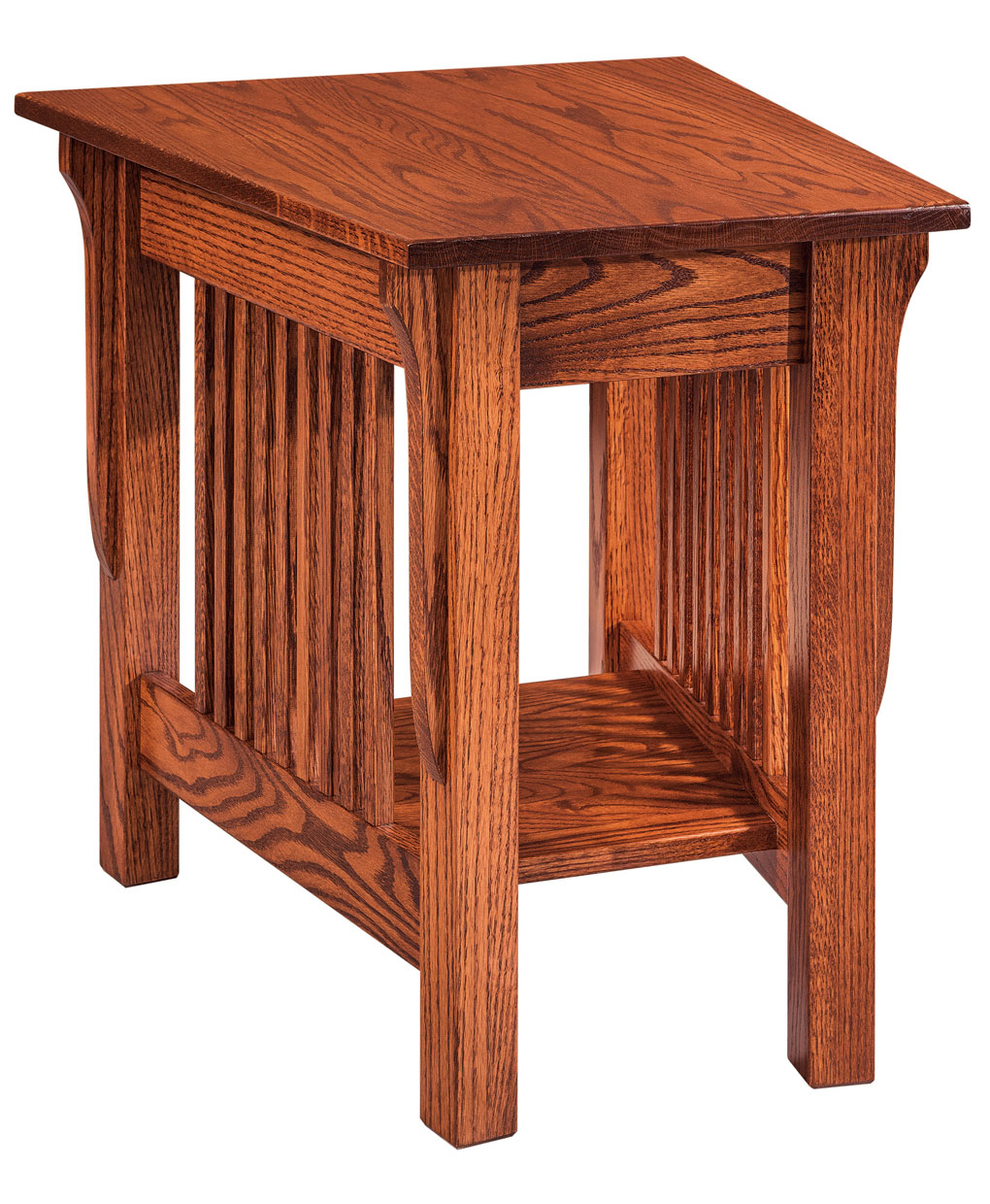 Leah Wedge End Table Amish Direct Furniture