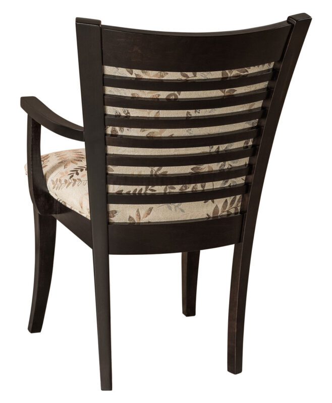 North Bay Amish Dining Chair [Back Detail]