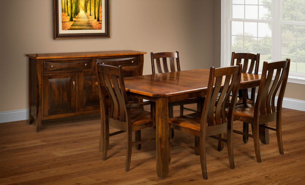 Preston Amish Dining Chair [Set]