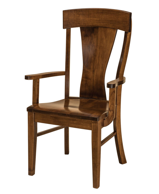 Ramsey Amish Dining Chair [Arm]