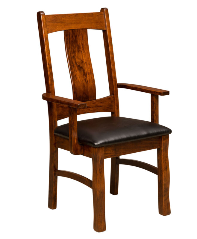 Reno Amish Dining Chair [Arm]