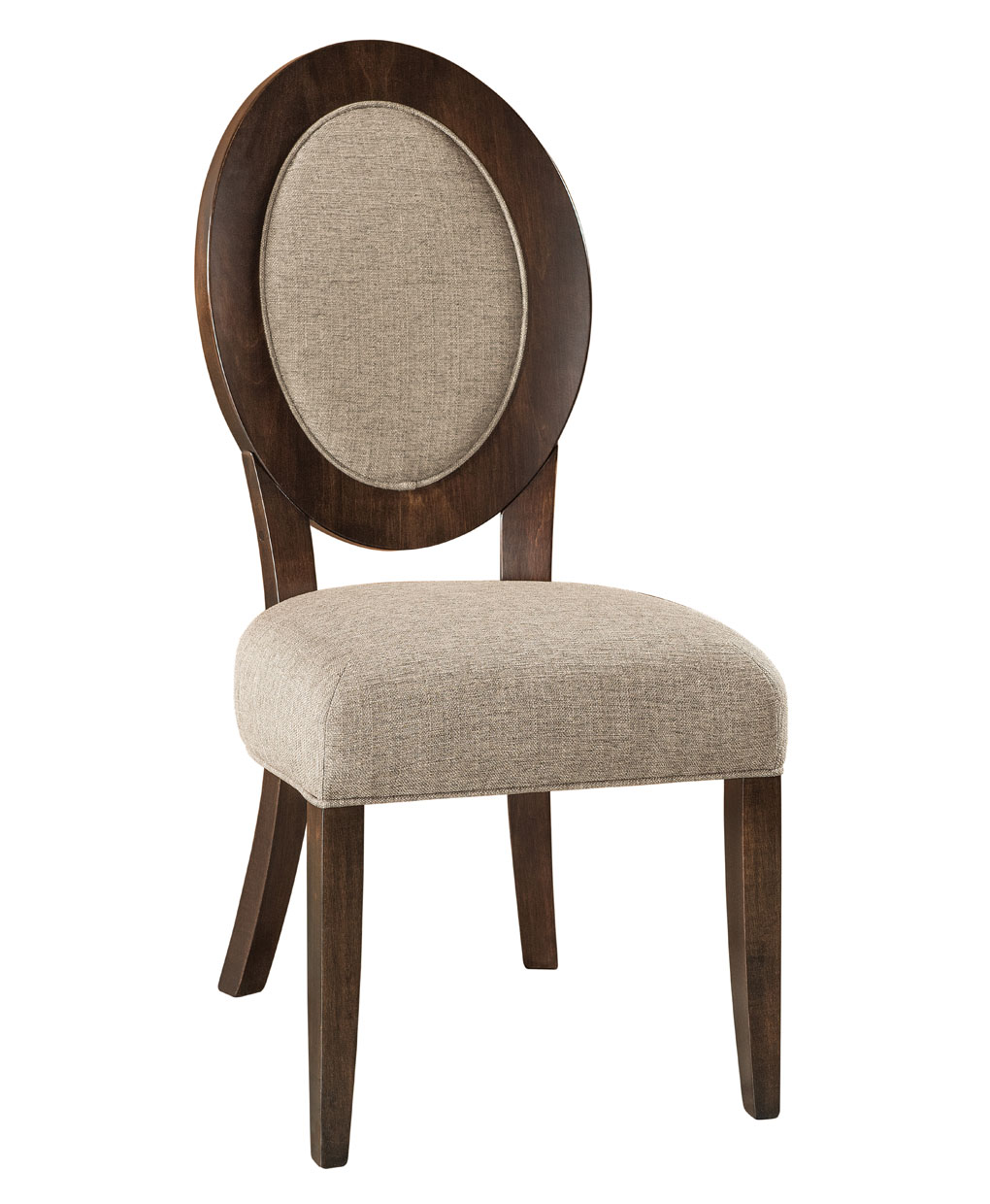 Roanoke Amish Dining Chair [Side / Brown Maple]