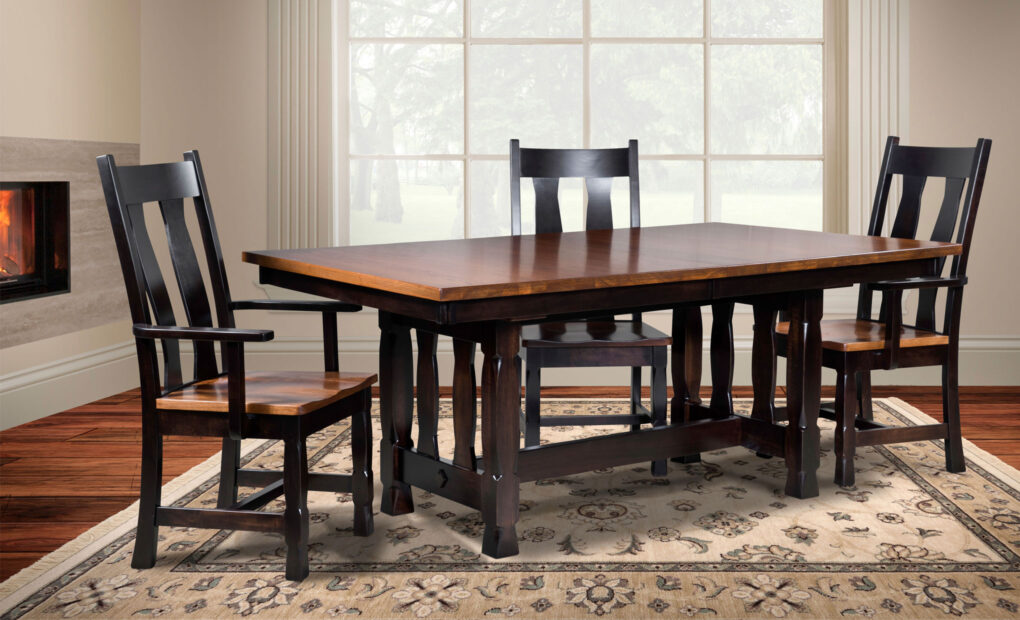 Rock Island Amish Dining Chair [Set]