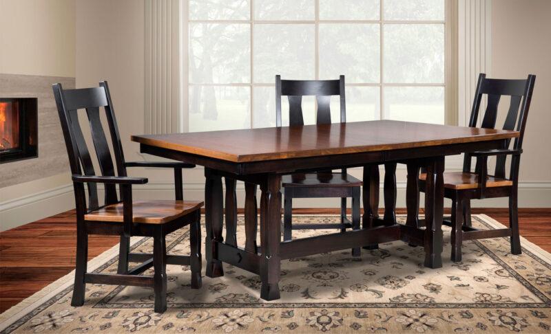 Rock Island Amish Dining Chair [Set]