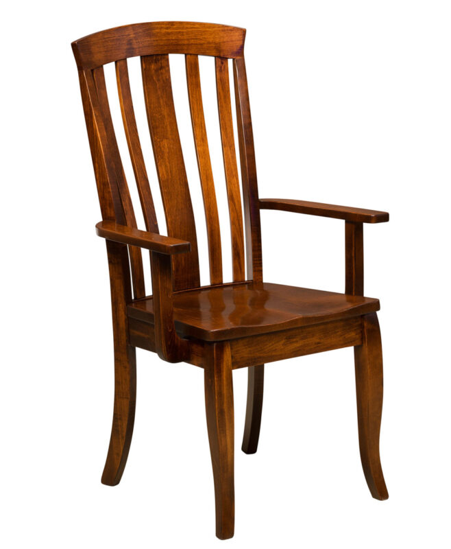 Saratoga Amish Dining Chair [Arm]