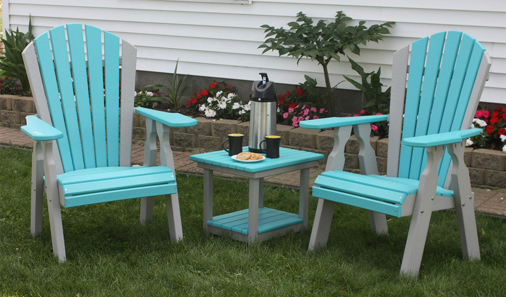 Classic Poly Outdoor Dining Chair Set