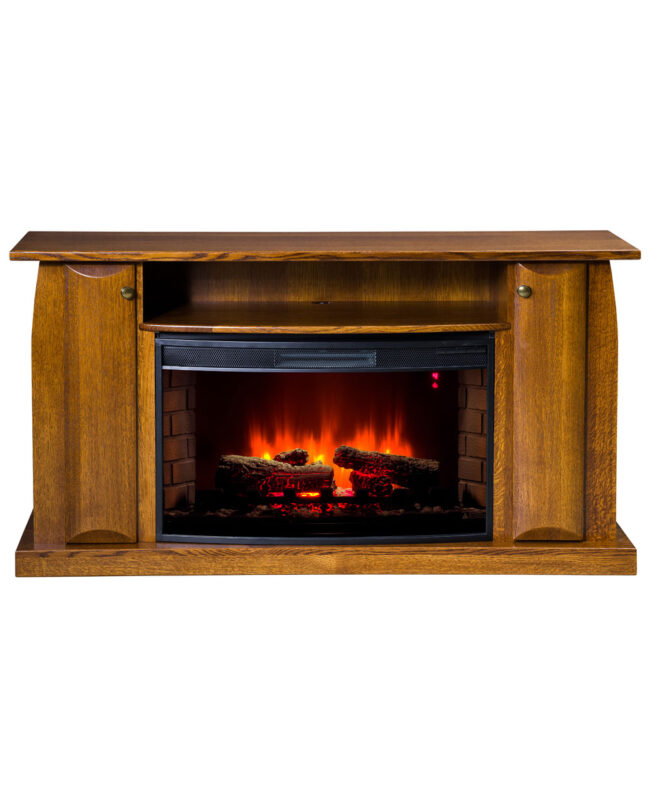 Shaker Series TV Stand with Space Heater (402)