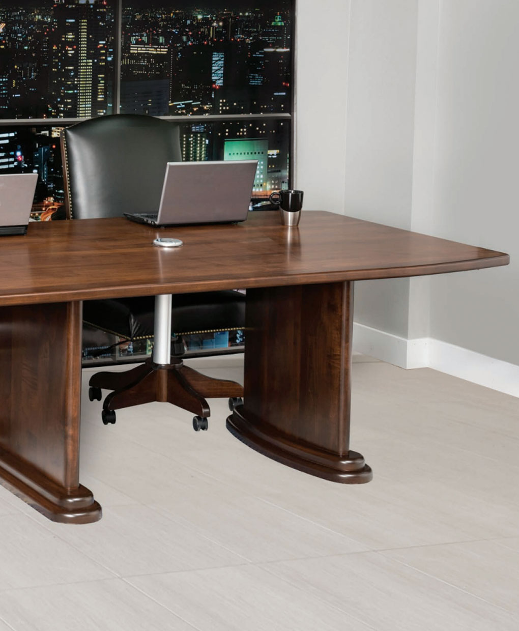 Executive Conference Table [Set Photo 2] & Executive Conference Table - Amish Direct Furniture