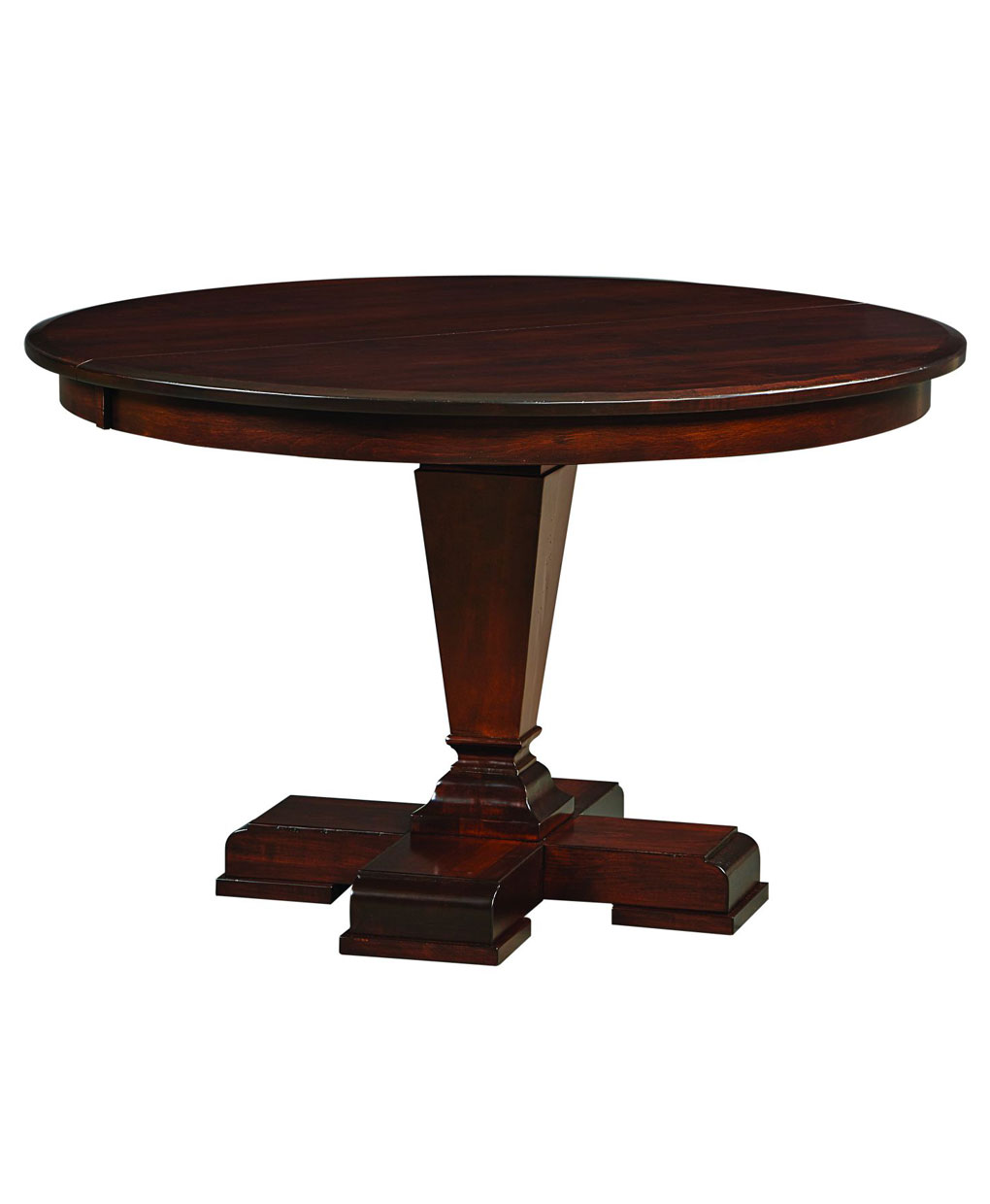 Fulton Single Pedestal Table Amish Direct Furniture