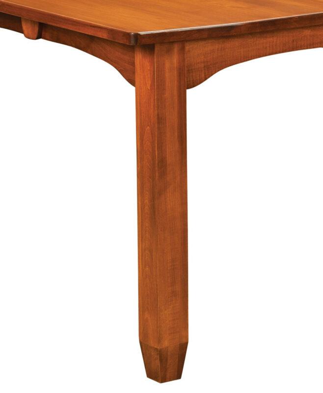 Kensington Amish Leg Table [Leg Detail]