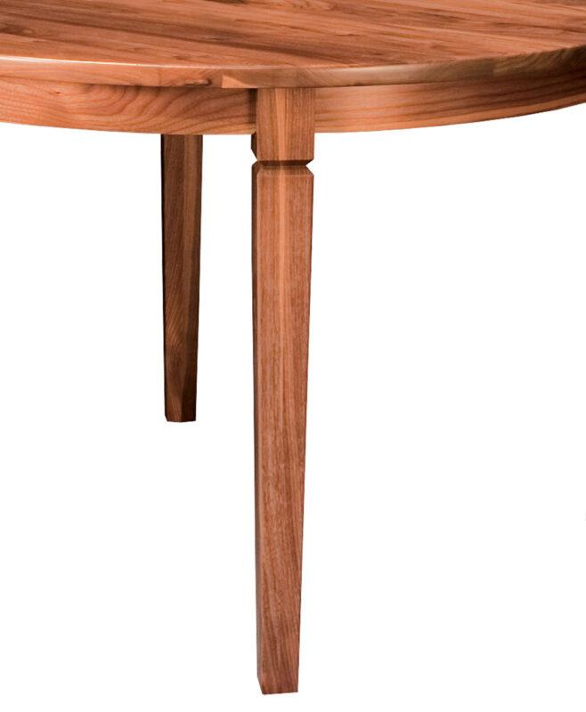 Parkland Round Leg Table [Leg Detail]