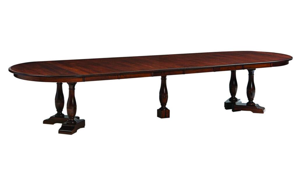 Westfield Amish Split Pedestal Table [Extended]