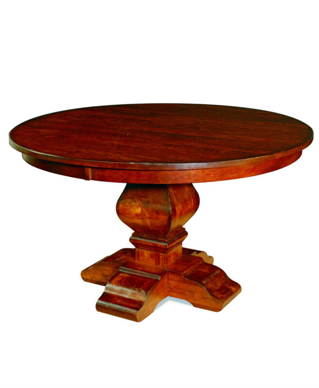 Wilmington Amish Pedestal Table