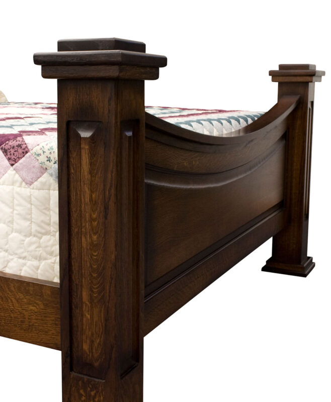 Lexington Amish Bed [Standard Panels in Post]