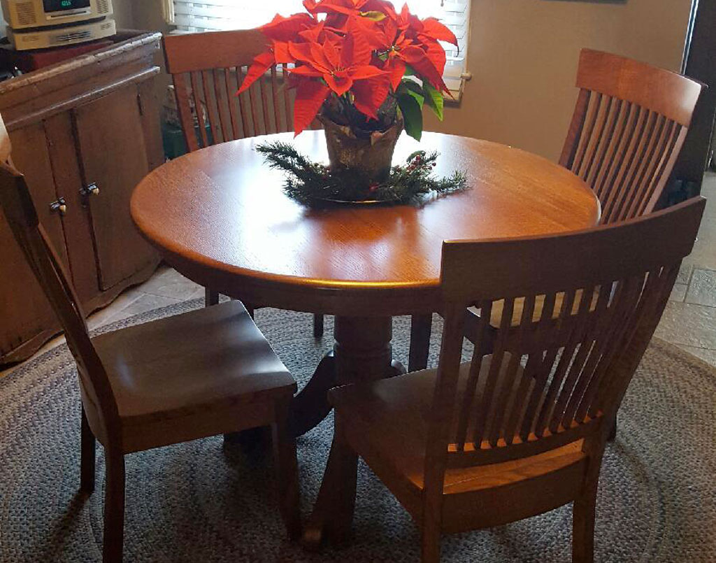 [Customeru0027s] Baytown Table Set   Amish Direct Furniture