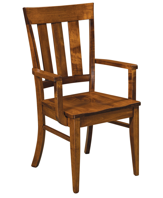 Glenmont Amish Kitchen Chair [Arm]
