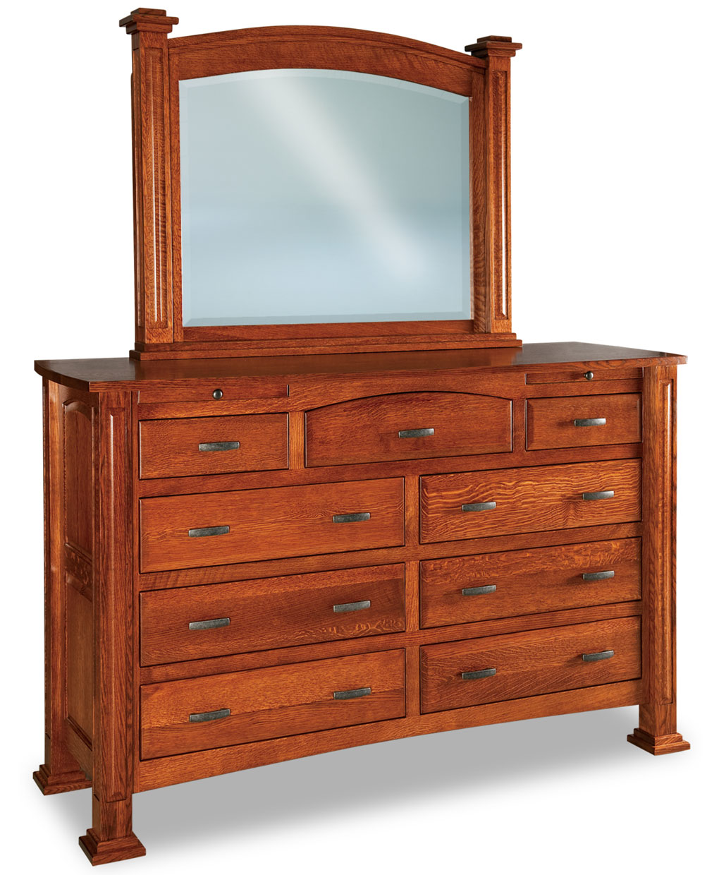 Lexington 9 Drawer Jewelry Dresser Amish Direct Furniture