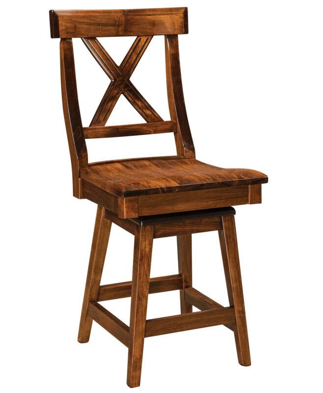 Vornado Amish Bar Stool [Swivel]