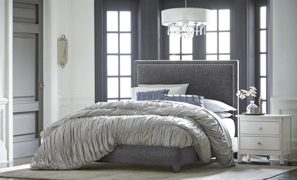 Adessa Amish Full Upholstered Bed [Set]