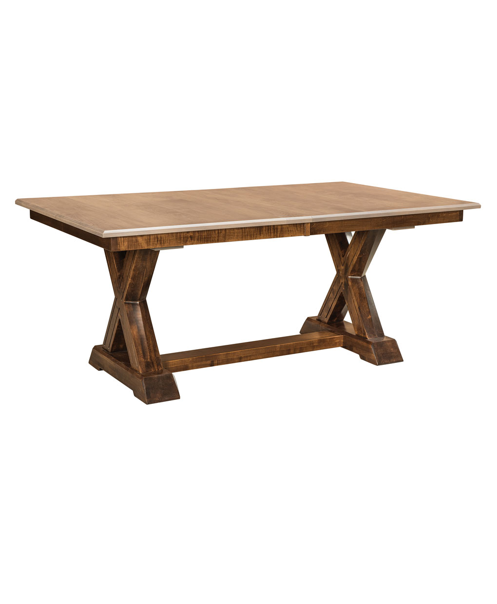 Trestle Table Amish Dining Room: Knoxville Trestle Dining Table