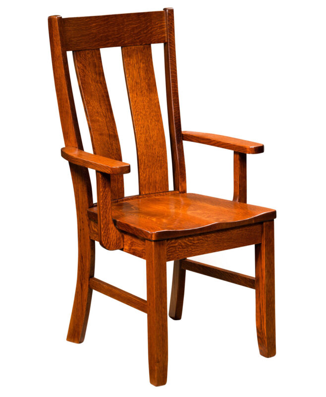 Garrison Amish Dining Chair [Arm]