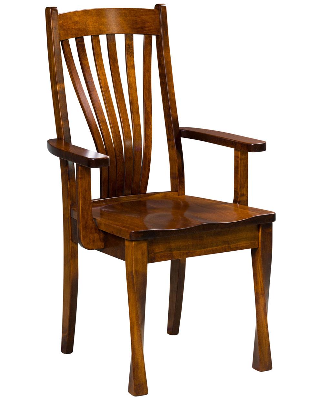 Lexington Amish Dining Chair Side