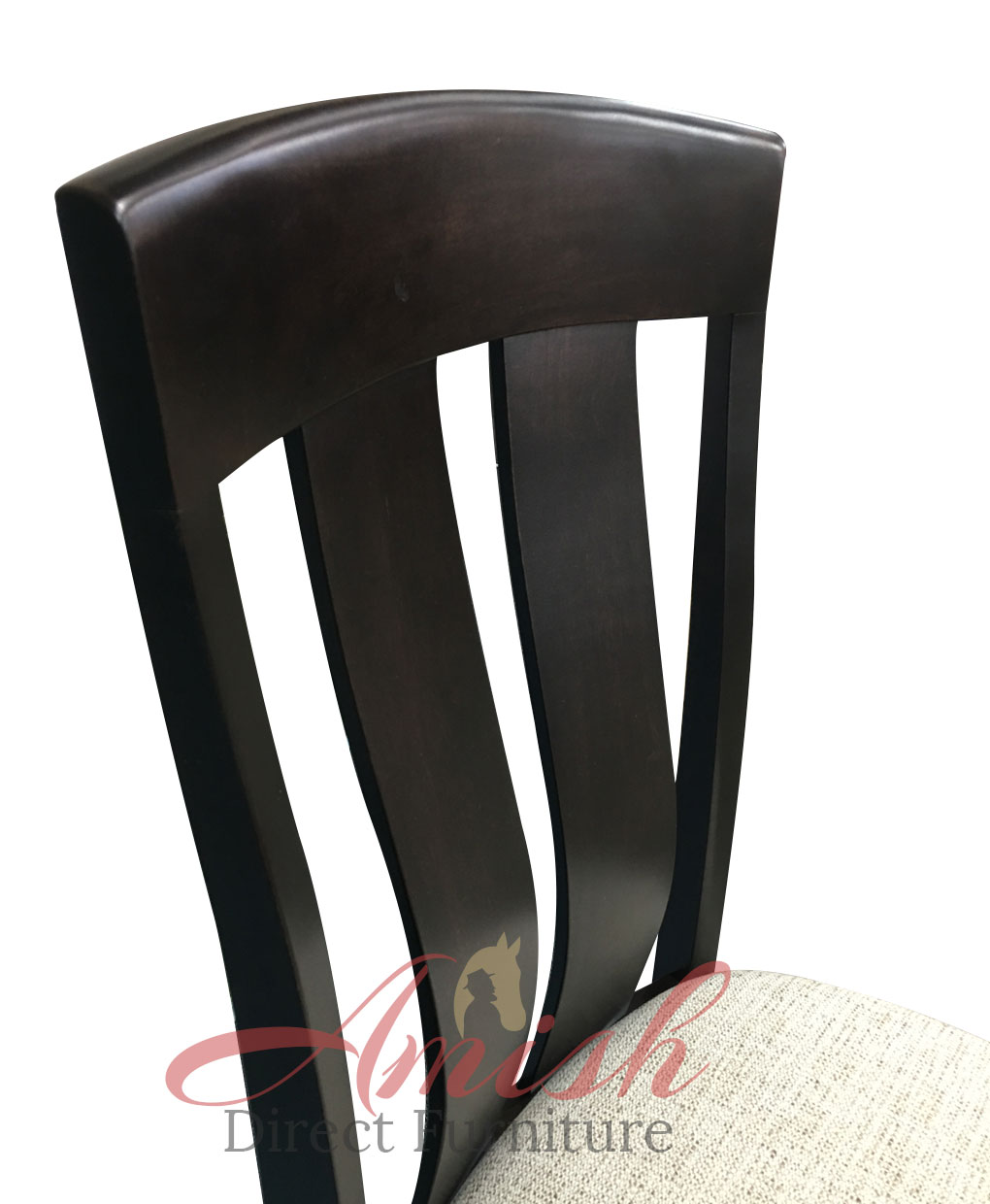 Cheyenne Amish Dining And Kitchen Chair [Amish Direct Furniture / Back  Detail]