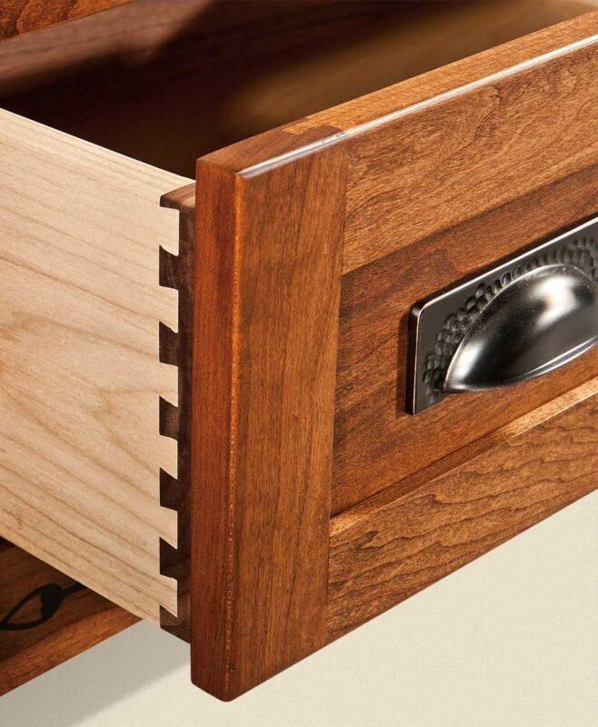 Brayfort TV Stand [Dovetailed Drawers Detail]