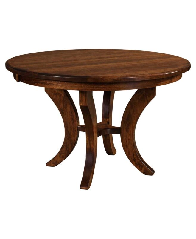 Amish Jessica Round Pedestal Table