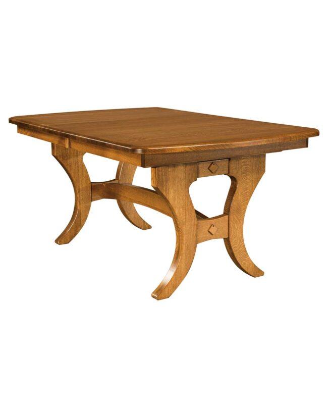 Amish Dining Jessica Trestle Table