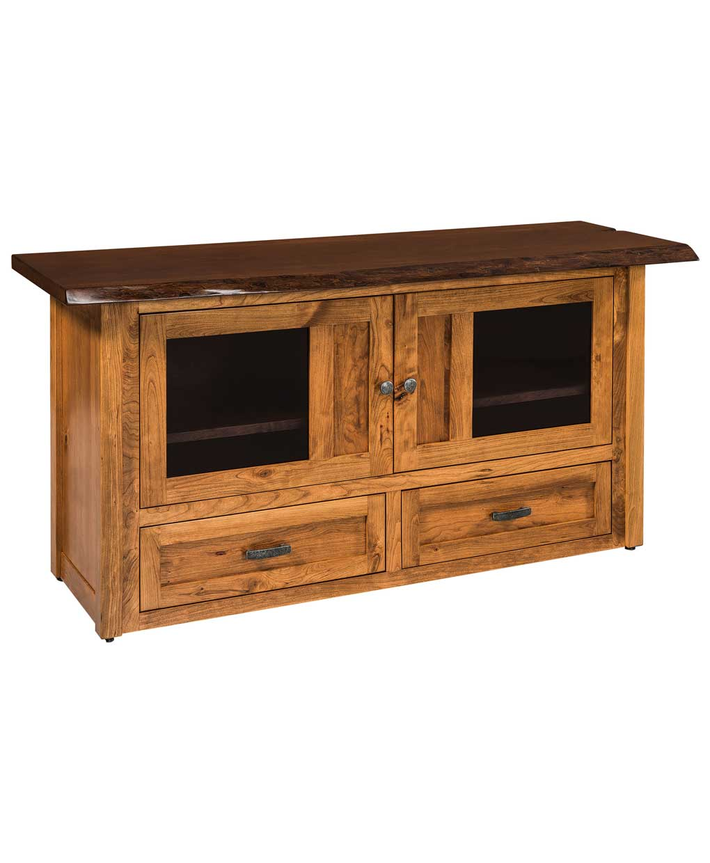 Kalispel Live Edge Tv Stand Amish Direct Furniture