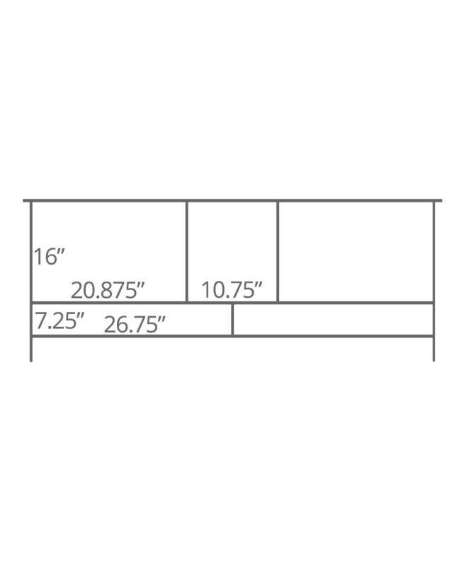 Amarillo TV Stand [Dimensions]