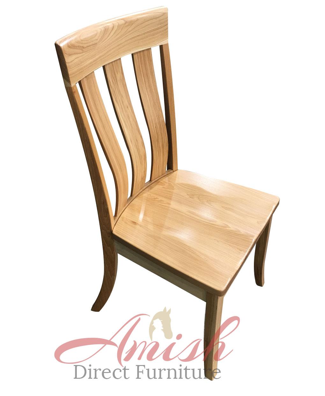 Alexander Amish Kitchen Chair Top View