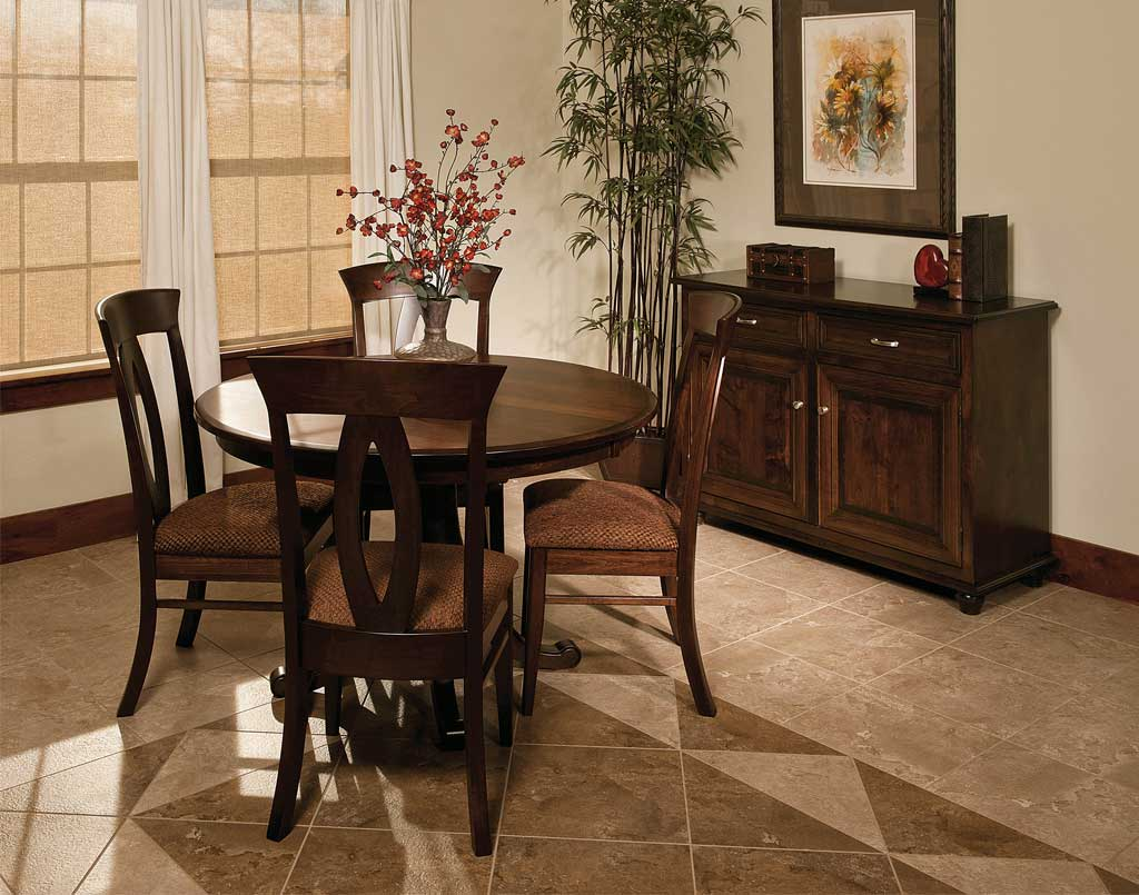 Chancellor Amish Table Set Amish Direct Furniture