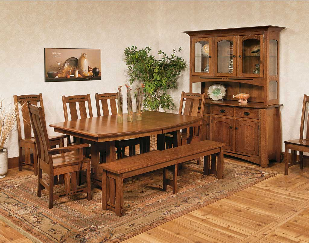 Amish Direct Furniture: Colebrook Amish Table Set