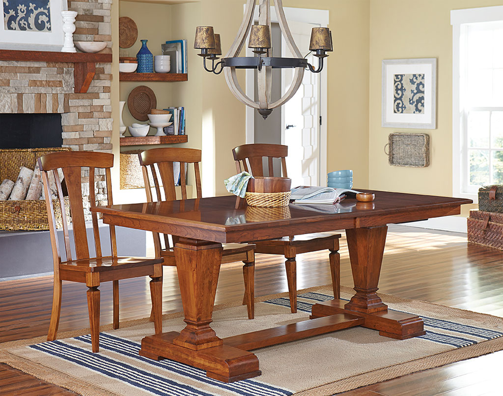 Fulton Amish Table Set