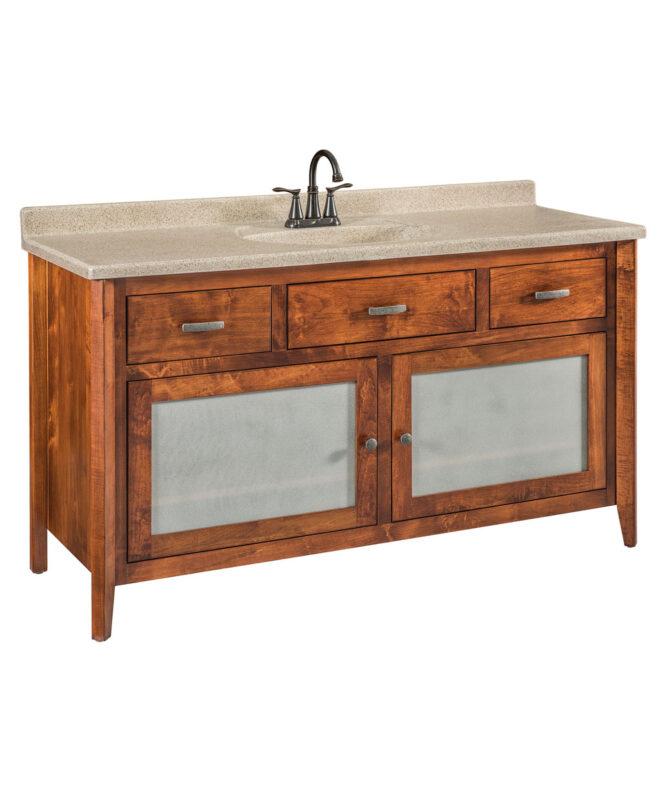 Garland Bathroom Vanity [GLLV60SNT / 3 Drawer, 2 Door]