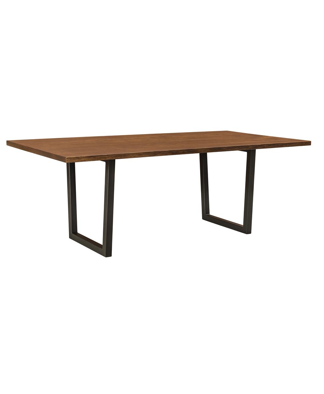 Lifestyle Trestle Table - Amish Direct Furniture