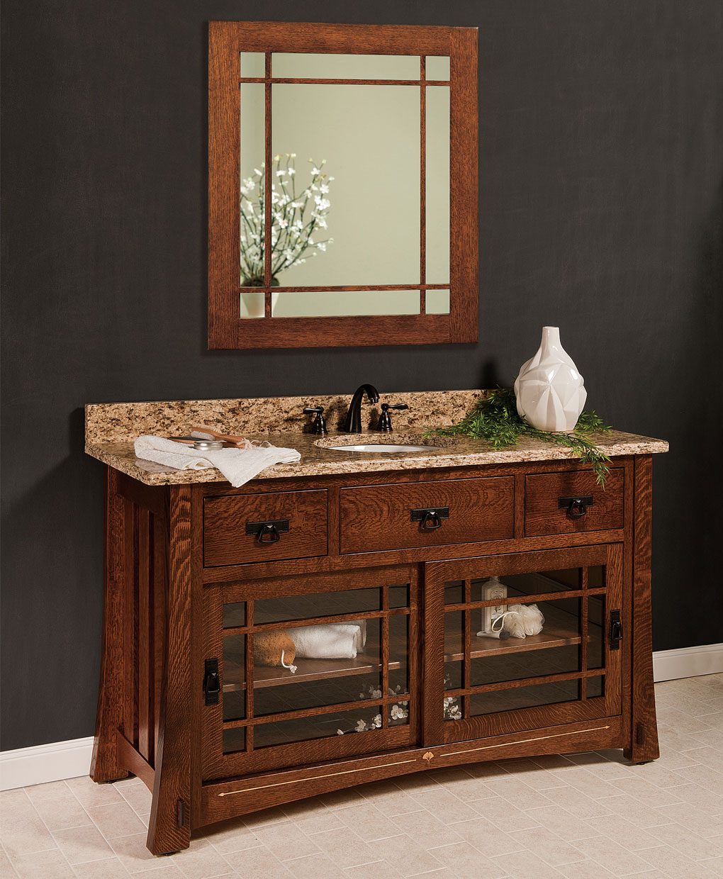Morgan Amish Bathroom Vanity Amish Direct Furniture