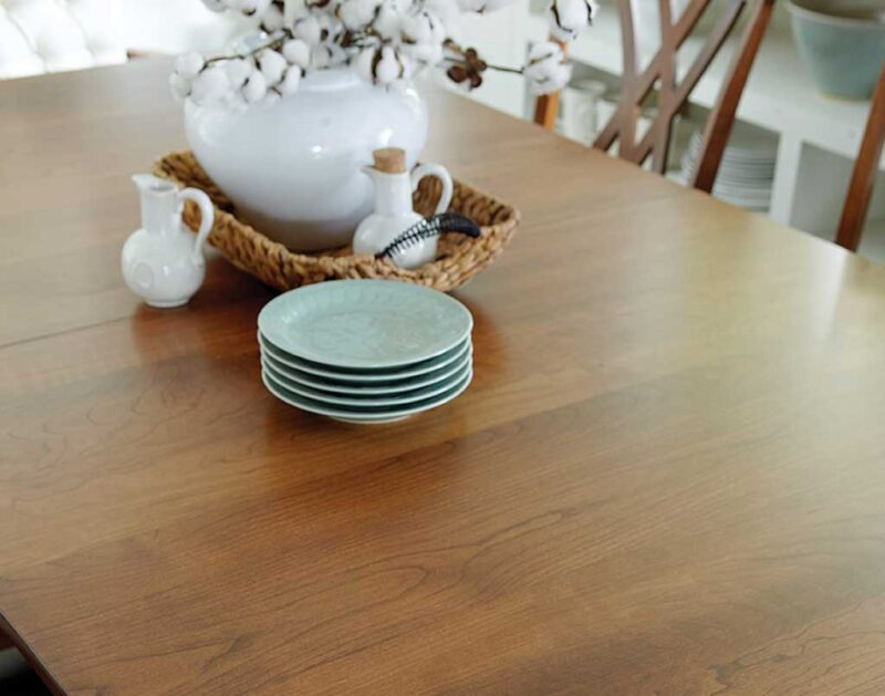 Heyerly Amish Table Set / Table Top Detail [Get ideas on your next dining or kitchen set at Amish Direct Furniture]