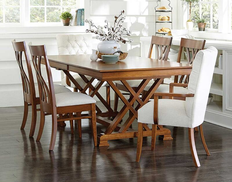 Heyerly Amish Table Set [Get ideas on your next dining or kitchen set at Amish Direct Furniture]