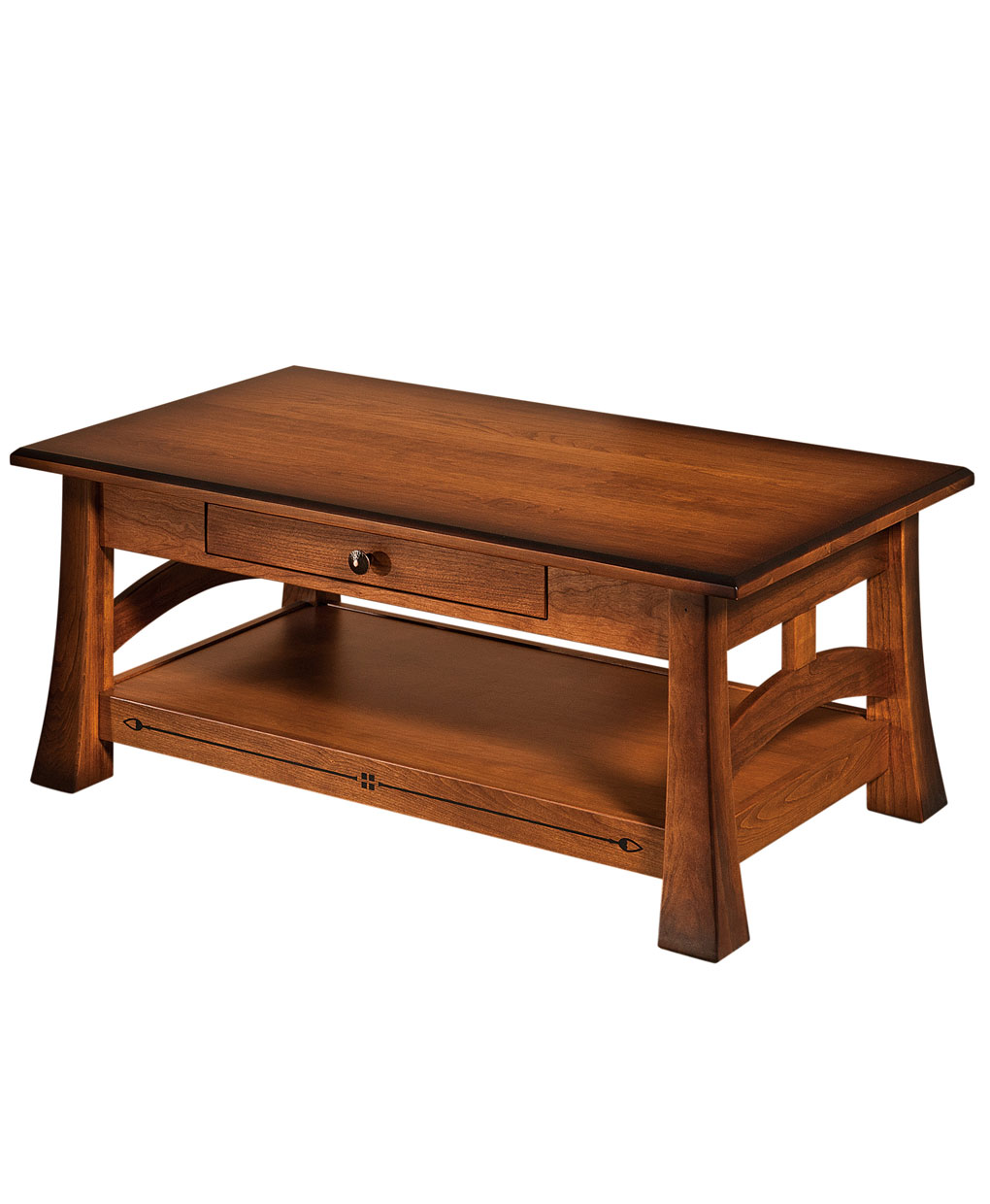 Captivating Brady Amish Coffee Table