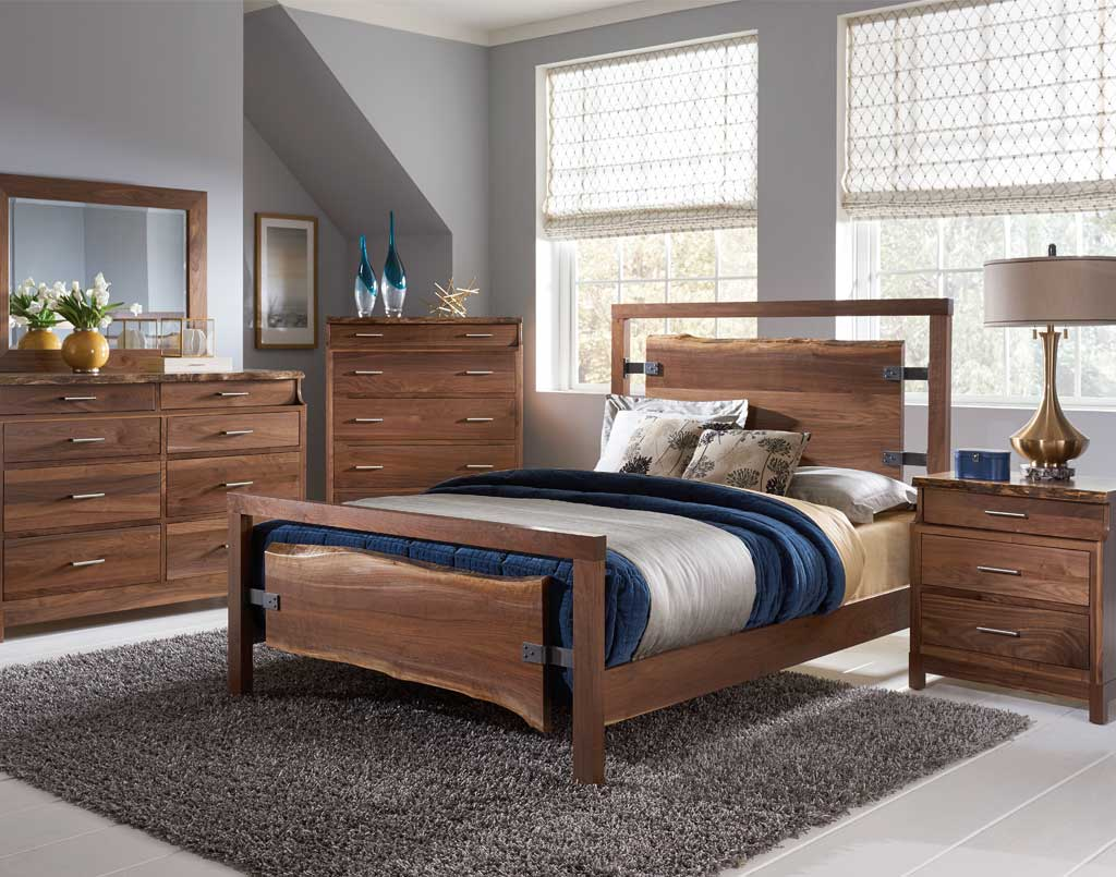 Westmere amish bedroom set amish direct furniture - Amish bedroom furniture ...