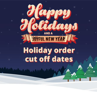 2018 Holiday Cut Off Dates for Dining Room Orders