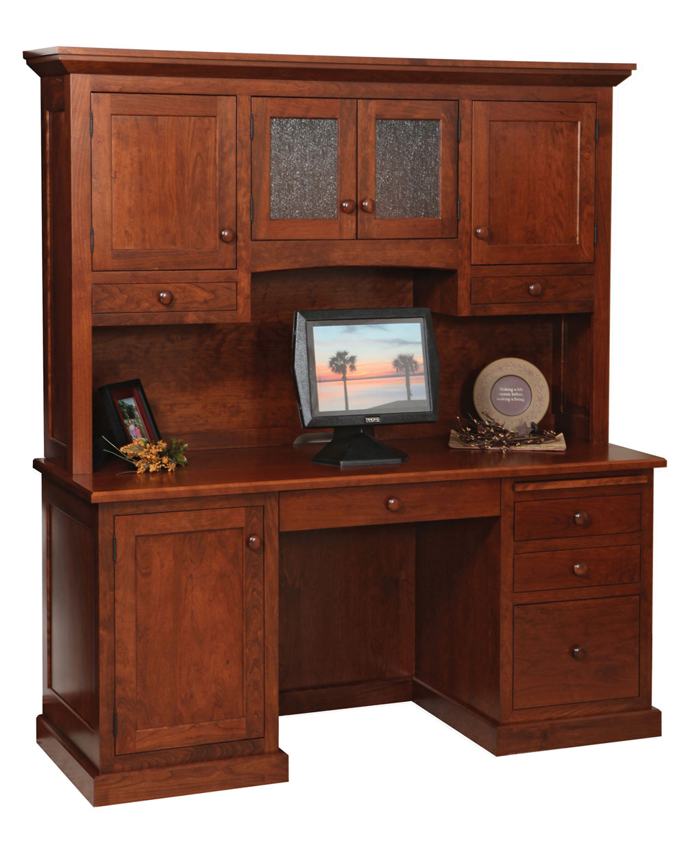 Homestead Credenza And Hutch