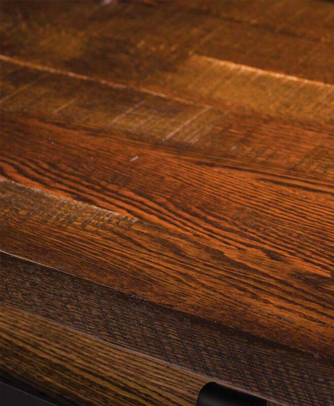 Homestead Amish Buffet [Optional Reclaimed Wood Top]