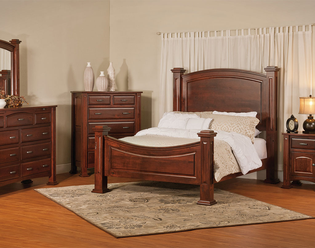 Lexington amish bedroom set amish direct furniture - Amish bedroom furniture ...